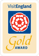 Visit England Gold Award Winner
